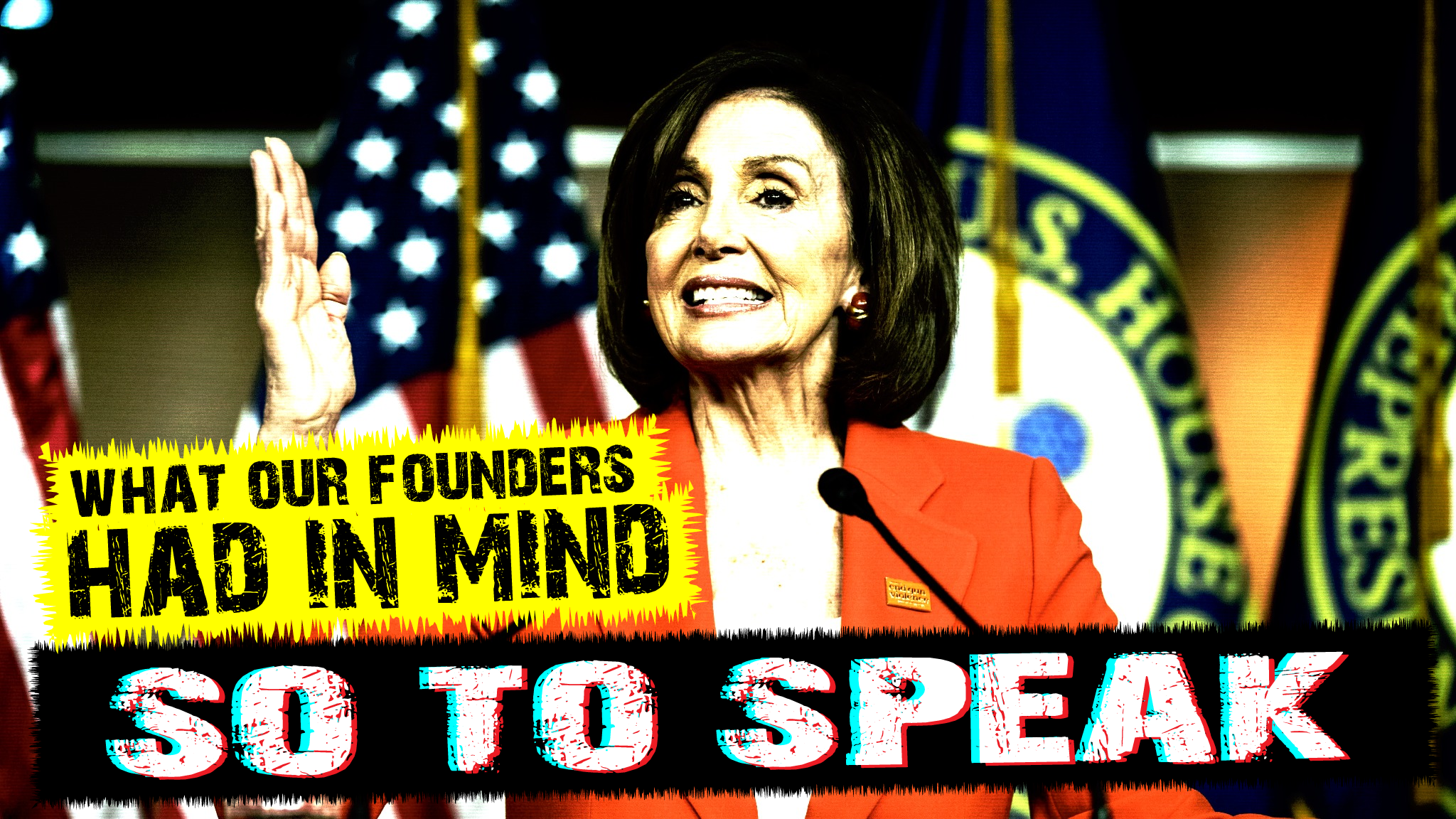 Nancy pelosi, constitutional scholar, schools americans on what the founders had in mind