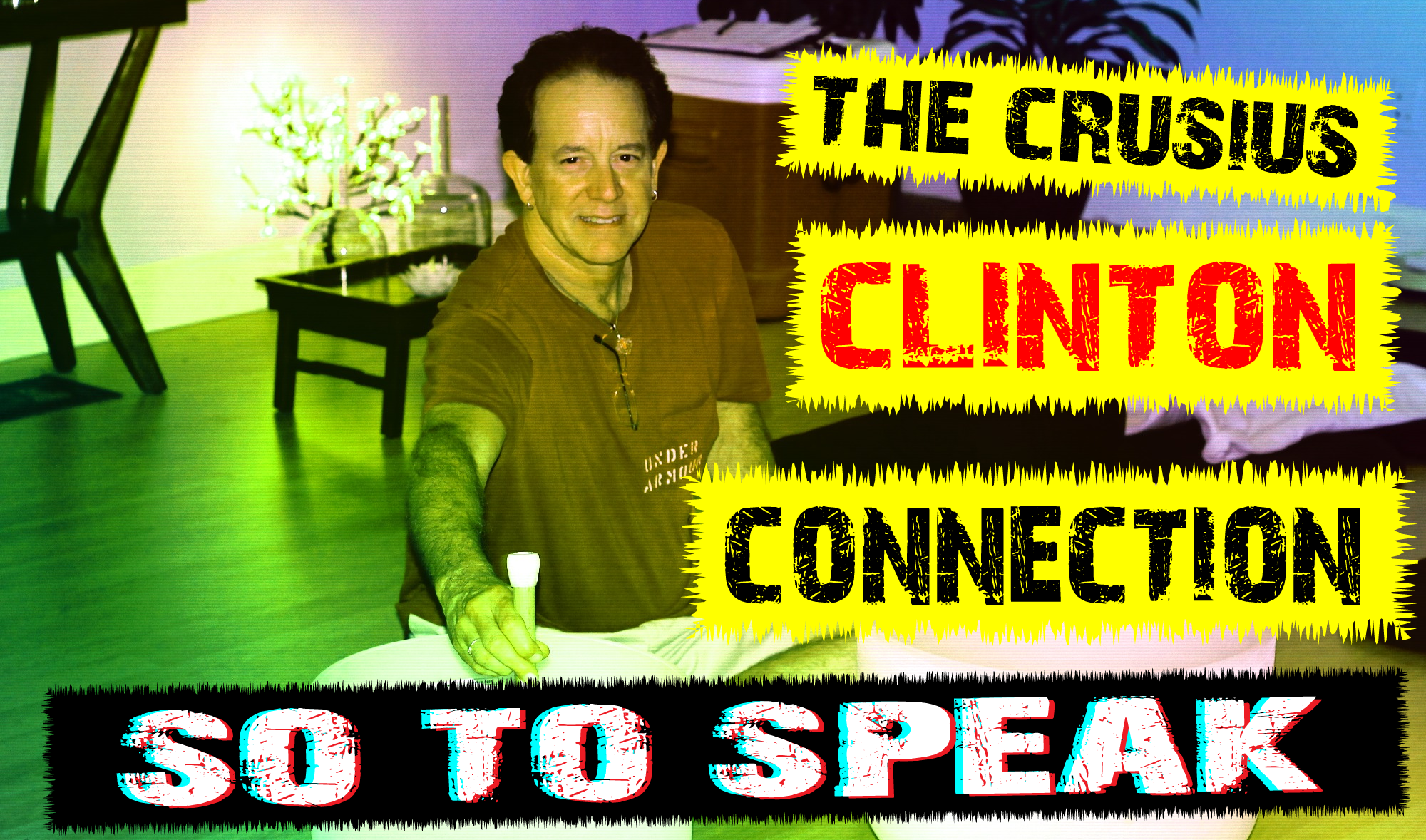father of el paso shooter patrick crusius, bryan crusius, has ties to john of god of brazil and bill and hillary clinton