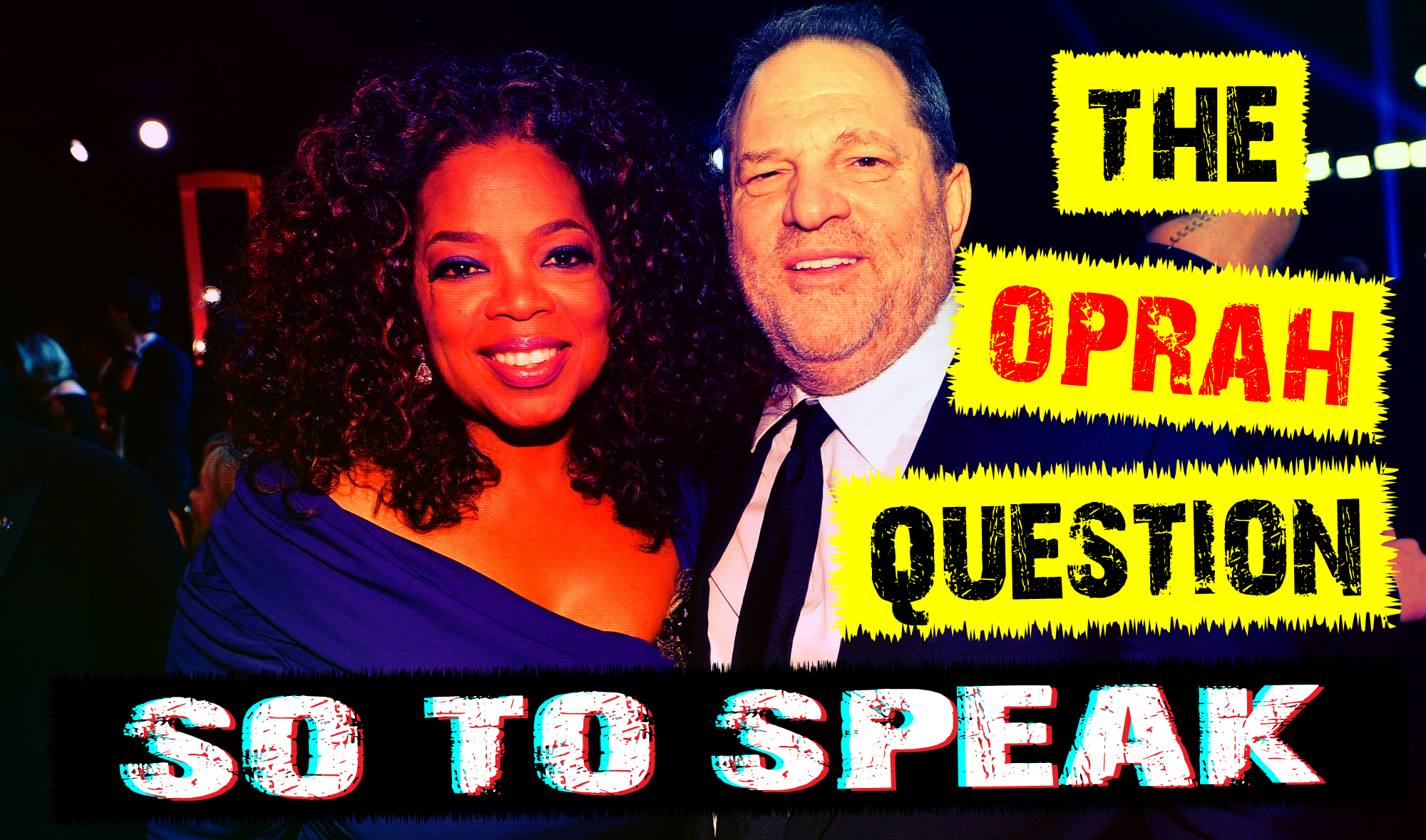 Is Oprah helping Jewish pedophiles like harvey weinstein, jeffrey epstein, and john of god procure underage girls for the rich and famous?