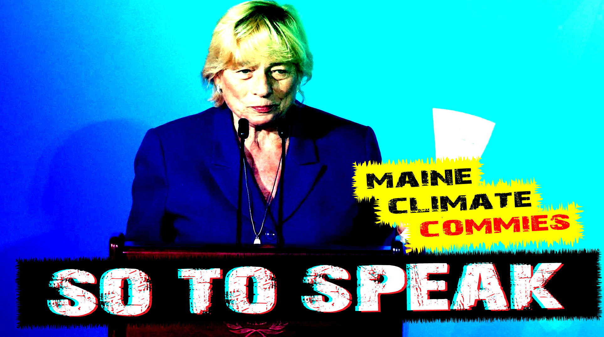 #fuckmills janet mills, climate extremist communist wants to kill maine economy