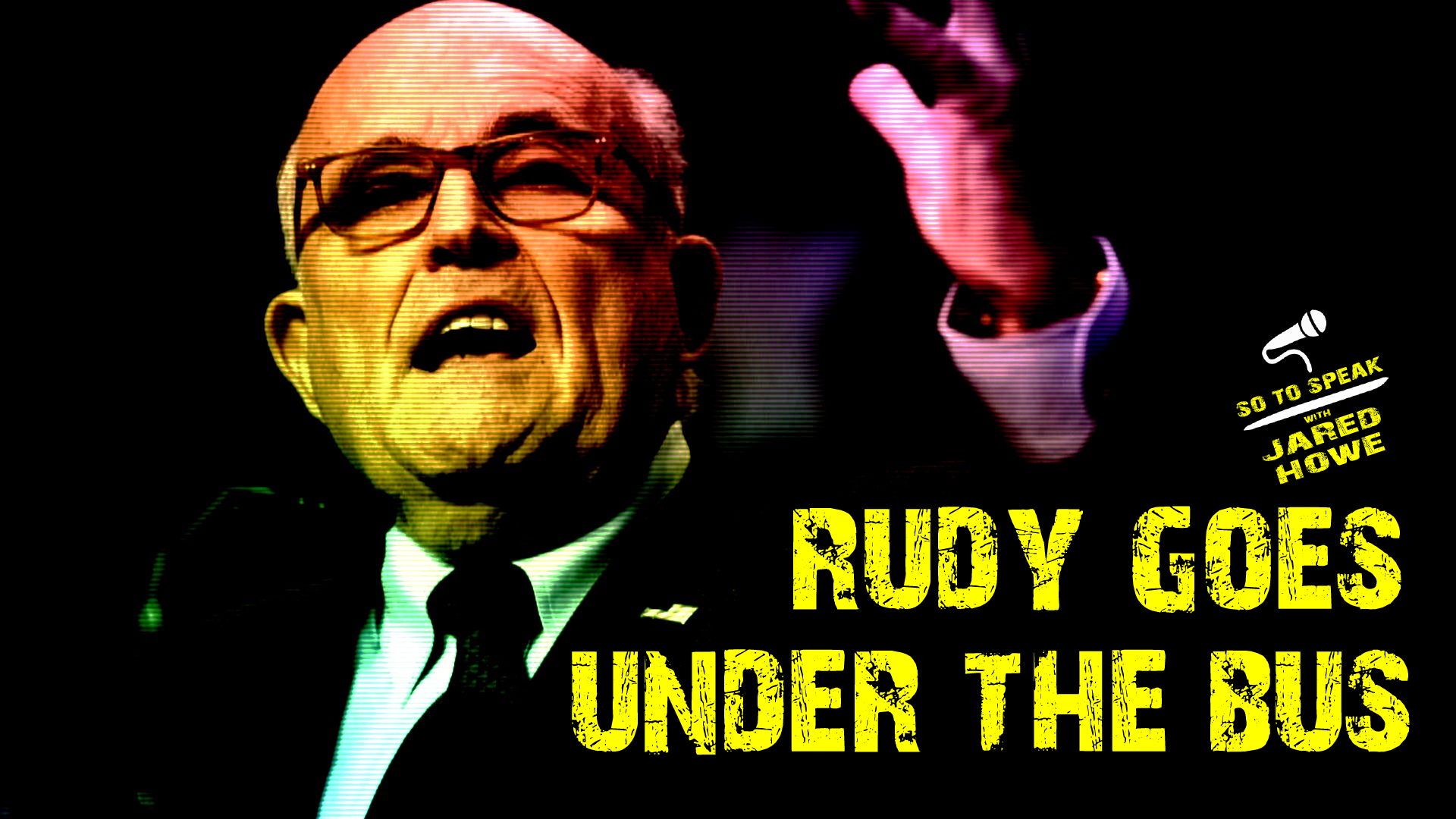 Rudy Giuliani is getting thrown under the bus by Mike Pompeo with regard to Ukraine