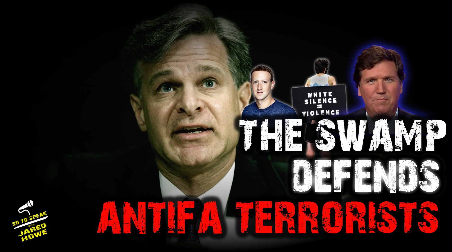 fbi director christopher wray trump crt critical race theory 1776 commission statues tucker carlson facebook antifa blm black lives matter riots arson looting nyt new york times 1619 project